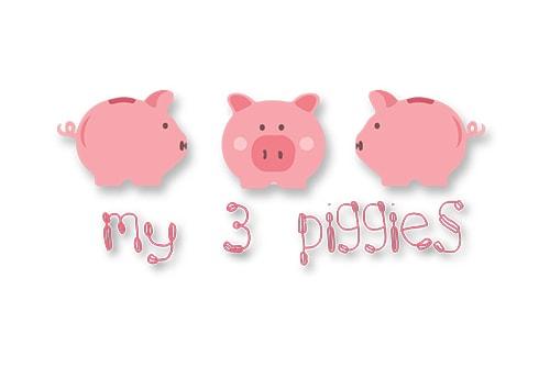My 3 Piggies